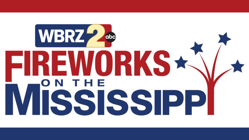 Wbrz News 2 Louisiana Baton Rouge La Fireworks On The Mississippi