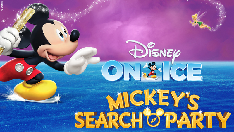 Disney on Ice Header Green Logo