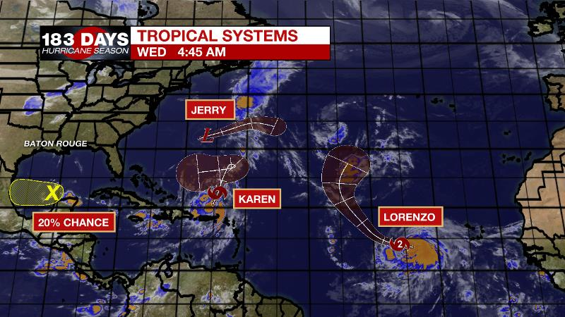 Large earthquake hits off Puerto Rico's coast as Tropical Storm Karen closes in
