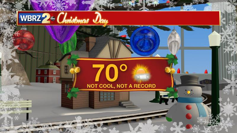 Mild today, even warmer Monday, quiet & sunny Christmas week