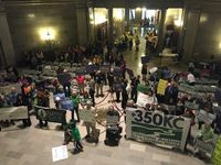 New environmental coalition celebrates in Earth Day rally