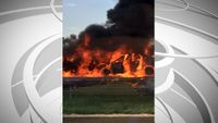 I-70 crash in Boone County sets two cars ablaze