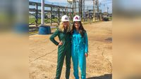 LSU alumna creates fashionable fire resistant overalls