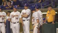 LSU baseball belts way to win over Texas Southern