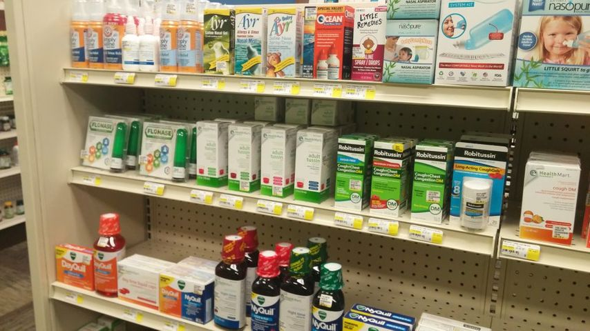 Viral infections, like colds and the flu, can be treated with over-the-counter medicine, not antibiotics.