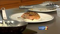 Galatoire's Bistro: Pan-seared salmon with mashed cauliflower