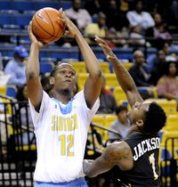 Southern Jaguars rally in second half to beat FAMU 68-50