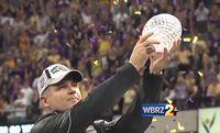 WATCH: Les Miles recalls LSU memories ahead of Saturday's Auburn game