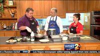 Chef of the Month: Louisiana Bayou Bistro's Fried Eggplant Ponchartrain