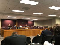 House special committee continues reading of witness transcript