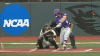 LSU rallies for five runs in ninth to eliminate Northwestern State 9-5