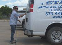 Intense heat creates a rush for air conditioning repair shops