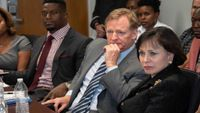 NFL Commissioner, Saints discuss criminal justice issues