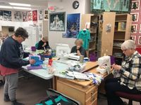 Quilt lovers join forces for a quilting retreat