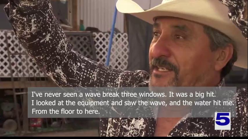'It scared me': Olmito man shares story of dramatic rescue from shrimp boat off South Padre Island