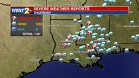 5 confirmed tornadoes occurred Thursday morning