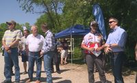 Gov. Greitens makes appearance at gun competition