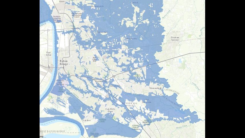 CityParish launches flood inundation map