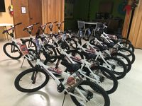 Bikes and helmets donated to columbia kids before the holidays