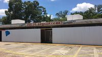 History revealed under facade at shopping center