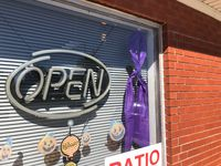 Mexico businesses paint the town purple to raise domestic violence awareness