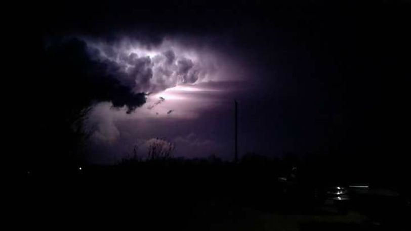 Dawn Parker sent this picture to KOMU.
