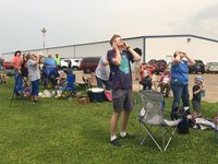 Crowds from all over share excitement over eclipse