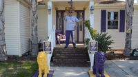 Home loaded with LSU merchandise belonging to controversial 'Big Lee' up for sale following his murder