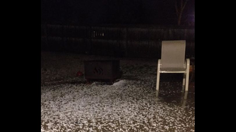 Deborah Martin Zeigler sent this picture to KOMU.