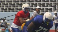 Back-up QB's battle for No. 2 spot at Southern