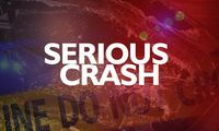 Two in serious condition after early morning crash