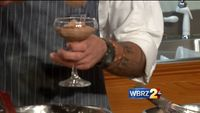 Galatoire's Bistro: Chocolate mousse with candied bacon