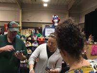 Vendors from all over attend a craft fair for exposure