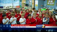 The Pledge of Allegiance: St. Jude the Apostle School