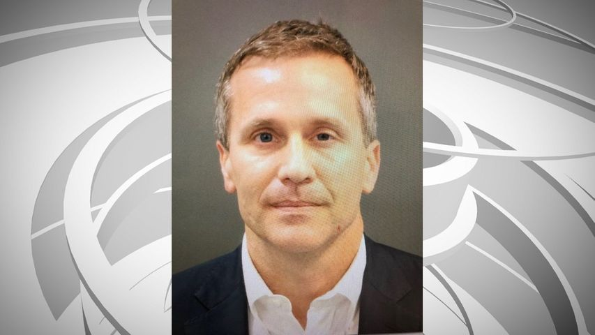 Governor Eric Greitens' mug shot. Photo courtesy: KSDK