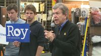 Sen. Roy Blunt visits Columbia to promote re-election campaign