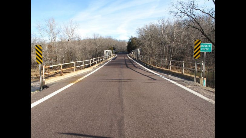 The Crooked Creek Bridge was built in 1928. Photo courtesy of MoDOT.