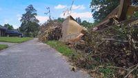 Missed debris collection blamed for woman's broken leg