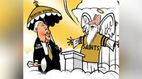 Cartoonist honors Tom Benson with touching comic
