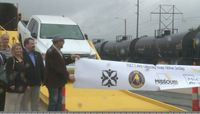 Story image: New unloading ramp unveiled for COLT Railroad