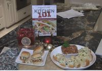 Holly's Holiday Countdown: Pulled Chicken and Artichoke Bread