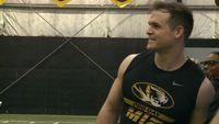 Michael Scherer chases NFL dream despite injury