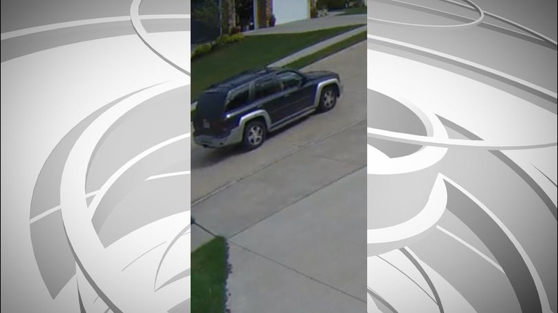 This is the vehicle Crimestoppers identified as a possible suspect in connection to thefts in the Thornbrook neighborhood. (Photo courtesy: CrimeStoppers)