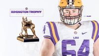 LSU center named finalist for national college football award