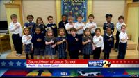 The Pledge of Allegiance: Sacred Heart of Jesus School
