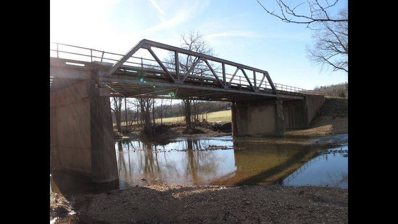 MoDOT said the Crooked Creek bridge will be donated if someone pays for the cost of removal. Photo courtesy of MoDOT.