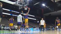 LSU basketball prepares for NCAA opener