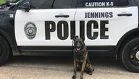 Non-profit gifts Louisiana police K9 with new protective vest