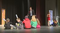 Families gathered at 10th annual magic show to support drug-free behavior