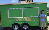Small business owner left out in the cold after thief steals snowball stand